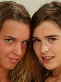 Watch lesbian teen lick her girlfriends hairy wet pussy