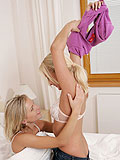 Pure sweet girls secretly love passionate lesbian licks