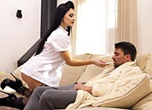Personal nurse in action