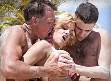 Britney Boroka Does The Caribbean
