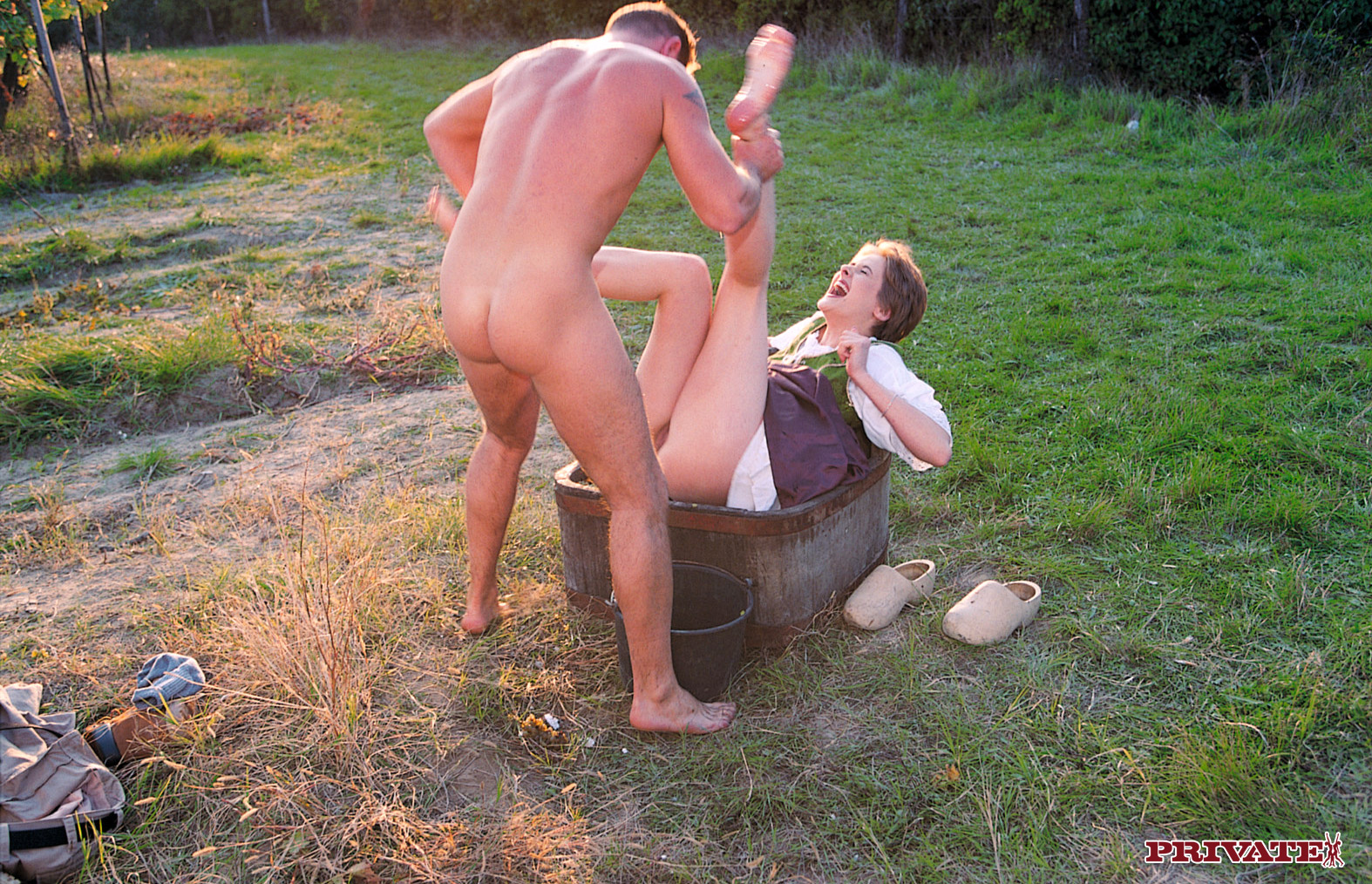 Русские деревенские бабы секс 3 фотография