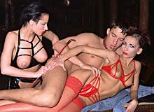 Five kinky sluts
