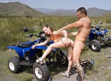 Desert orgy