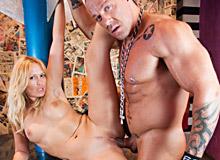 Backstage sex