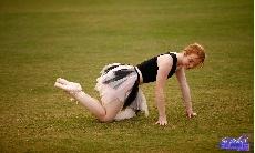 Outdoor Pussy Ballet Practice!