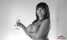 Ava Devine B&W New Years!
