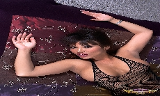 Ava Devine Black Mesh Outfit