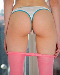 Pantyhose and panties