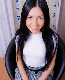 Long haired brunette