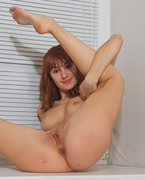 Lovely young redhead