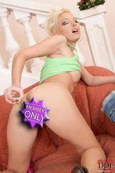Hot Lena Cova masturbating with toy