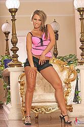 Carmen showing & vibroing her ass