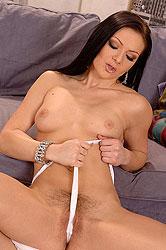 Hot Mischelle working her glass toy