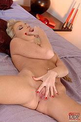 Sexy Danielle Maye fingering pussy