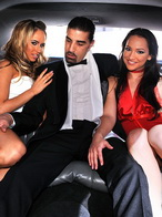 Luxury girls Sabrina and Aleksa in anal hardcore
