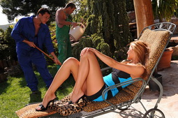 Cindy Hope thought the 2 gardeners were really hot