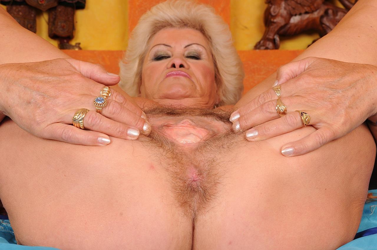 Horny hairy grannies