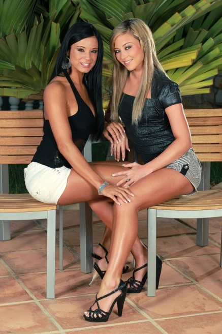 Very hot lesbian babes are eating out each other