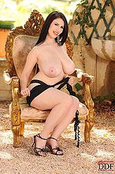 Hot Karina Heart shows her big tits