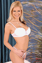 Busty Anastasia De Vine gets naked