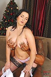 Hot busty babe Kasandra gets fucked