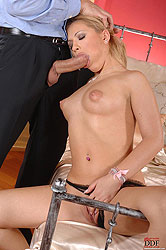 Newcomer greets Frank and his cock!