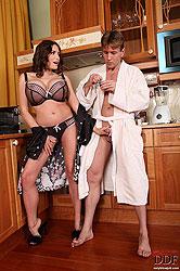 Hot breakfast blowjob for Clanddi!