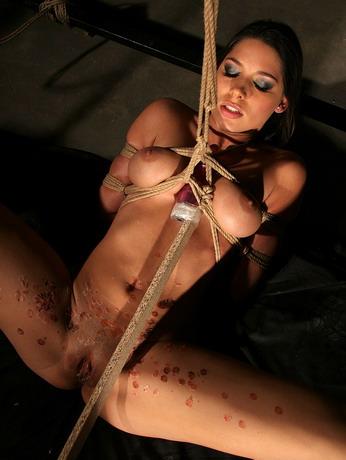 Busty pornstar Zafira finally appears in BDSM act
