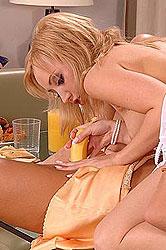 Hot girls & anal banana insertions