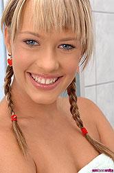 Wild lesbian steamy bathroom scene