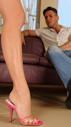 Busty anal lover Aletta Ocean in foot fetish movie