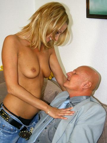 Teenie blonde Valery gets cum on her smooth skin