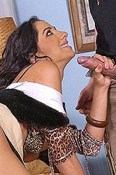 Hard double penetration sex action