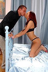 Sexy Kristine enjoys 100% anal sex