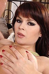 Busty brunette in hardcore sex romp