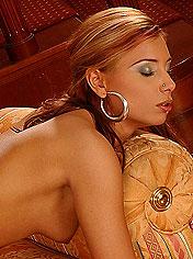 Sexy Anetta Keys rides a cock with facial