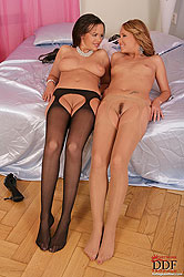Lesbian Linet & Zuzana Z get nasty