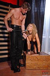 Sexy Rachel Evans bound & fucked