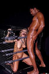 Sandra de Marco gets bound & fucked