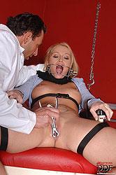 Kathia Nobili exploited by doctor