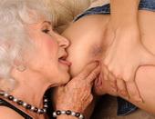 Teen girl fingering her old girlfriend in fishnet