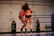 Rio Lee in the Nude  Fight Club against Blue Angel