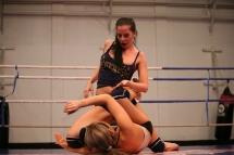 Aleska Diamond and Larissa Dee in a nude catfight