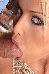 Kathia sucking cock at NYE party