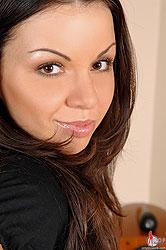 Busty Christina Shmidt sucks cock