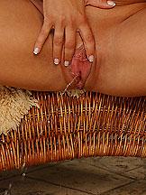Hot pornstar Cameron Cruz gets facial and pissing