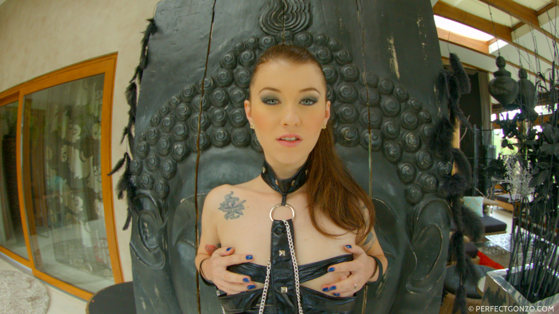 Cumforcover misha cross is drenched in cum - 2 part 9