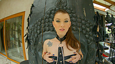 Misha Cross just loves to devour men with her hungry mouth and in this blowbang she takes on four cum-spurting cocks for a facial finale.