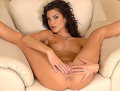 Hot young Nella shows her tiny and tight pussy