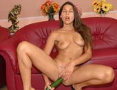 Famous pornstar Zafira in hard fisting scenes